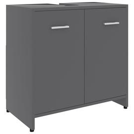Шкаф для раковины VLX 802572, серый, 33 x 60 см x 58 см