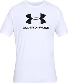 Särk Under Armour Sportstyle Logo Tee 1329590-100, valge, 2XL