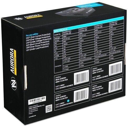 iBOX Aurora PSU 400W