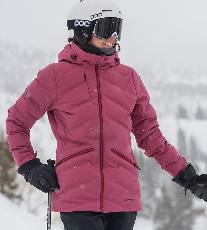 Marmot Womens Jacket Val D'Sere Dry Rose XL