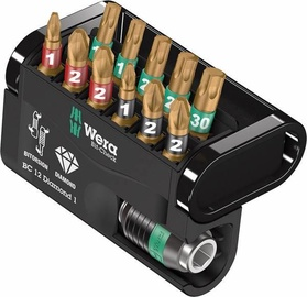 Wera Check 12 Diamond 1 Bit Set 12pcs