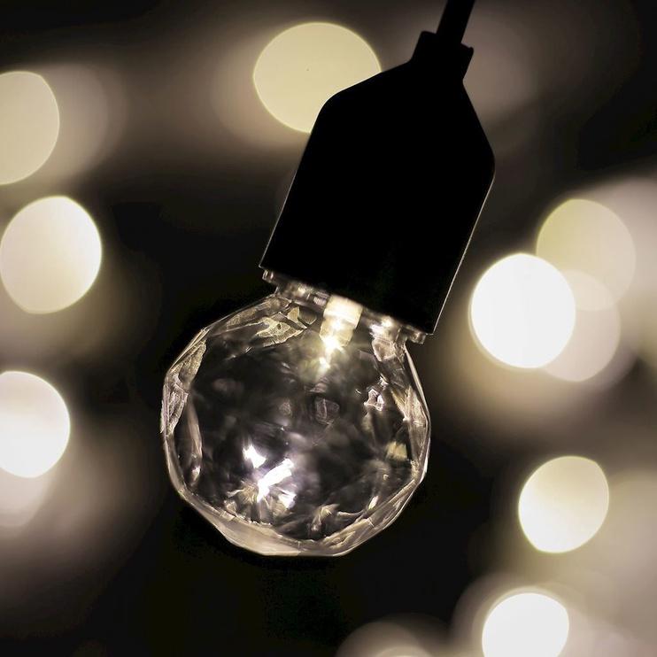 Elektriskā virtene DecoKing LED Garden White, 3 m