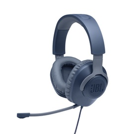 JBL Quantum 100 Gaming Headset Blue