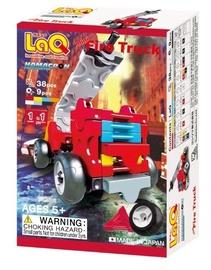 Konstruktorius LaQ Japanese Hamacron Mini Fire Truck