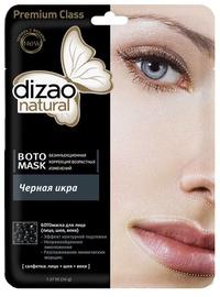 Veido kaukė Dizao Premium Class BOTO 1 Stage Mask Black Caviar, 28 g