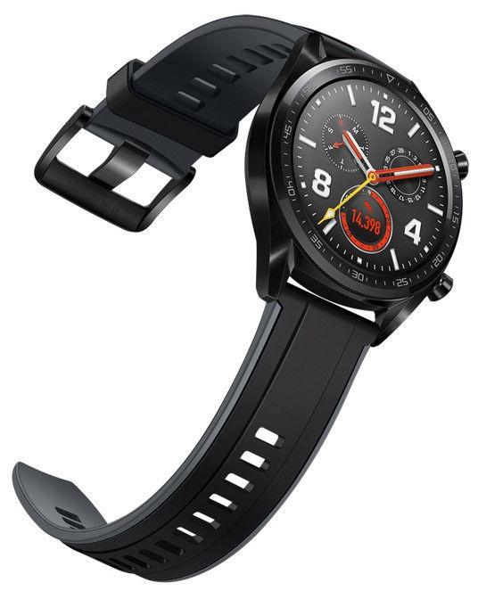 Išmanusis laikrodis Huawei Watch GT Black Rubber Strap