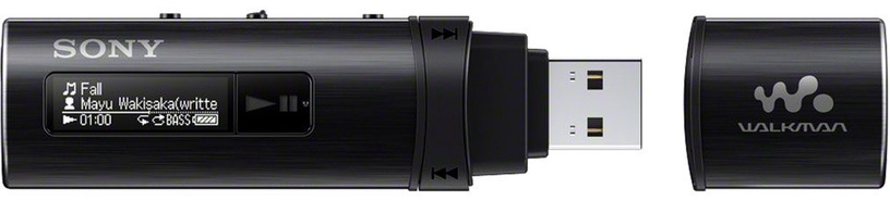 Музыкальный проигрыватель Sony NWZ-B183B Black, 4 ГБ