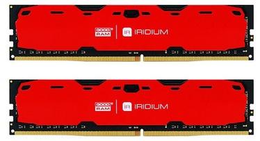 Operatīvā atmiņa (RAM) Goodram IRIDIUM Red IR-R2400D464L15S/16GDC DDR4 16 GB