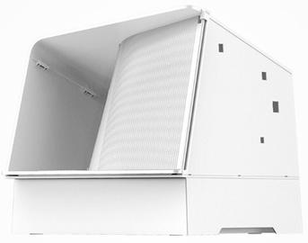 Кошачий туалет Petkit Cat Villa, белый, закрытый, 570x290x610 мм