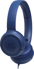 JBL Tune 500 on-Ear Headphones Blue