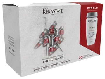 Kerastase Specifique Intense Anti Thinning Hair Care Ampoules 20x6ml + 250ml Bain Prevention Normalizing Frequent Use Shampoo