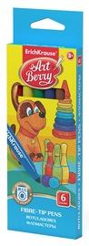 ErichKrause Art Berry Super Washable Fibre-Tip Pens 6pcs