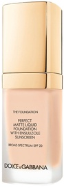 Dolce & Gabbana Matte Liquid Foundation SPF20 30ml 78