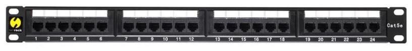 Netrack Patch Panel 19'' CAT 5e UTP 24-Port