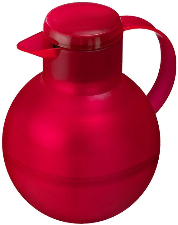 Emsa Thermos Mug For Tea Solera 1,0L Transparent Red