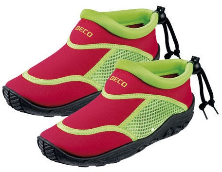 Beco 92171 58 Kids Swimming Shoes 24 Red/Green