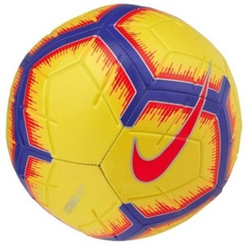 Nike Strike Soccer Ball Yellow/Blue/Red Size 5