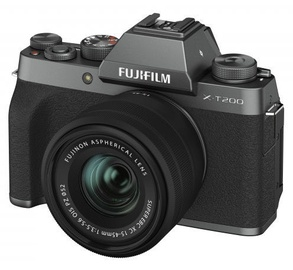 Fujifilm X-T200 Fujifilm X-T200 + 15-45mm Lens Dark Silver