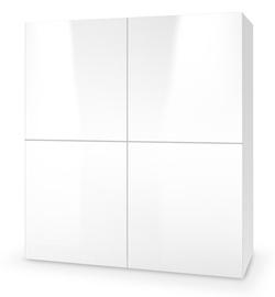 Комод Halmar Livo KM-100, белый, 29x100x100 см