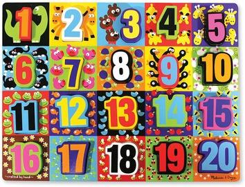 Melissa & Doug Jumbo Numbers Chunky Puzzle 3832