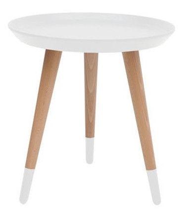 Black Red White TXL 024 Coffee Table White