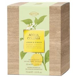 Набор для женщин 4711 Acqua Colonia Lemon & Ginger 50ml EDC + 75ml Shower Gel Unisex