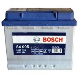 Аккумулятор Bosch S4, 12 В, 60 Ач, 540 а