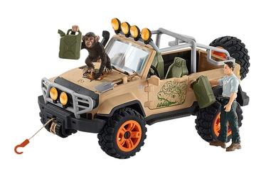 Фигурка-игрушка Schleich Wild Life 4x4 Vehicle With Winch 42410