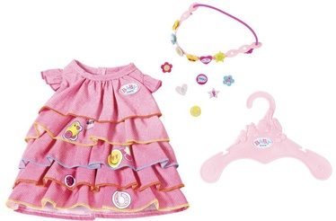 Zapf Baby Born Summer Dress Set With Pins 824481