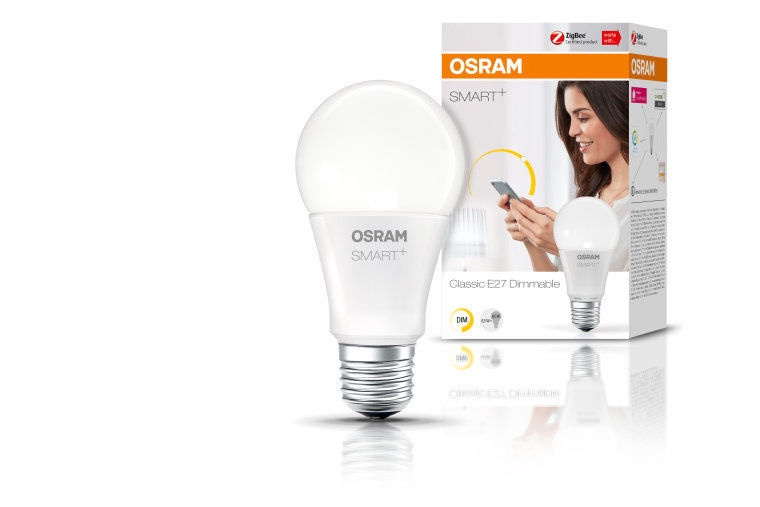 Osram Smart Plus Classic Dimmable 8.5W