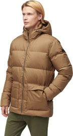 Audimas Mens Puffer Down Jacket Otter XL