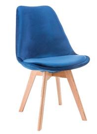 Стул для столовой Signal Meble Dior Dark Blue, 1 шт.