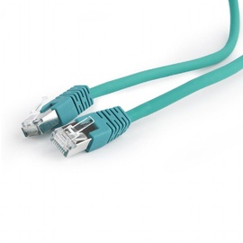 Gembird Cable S/FTP Patch CAT 6a Green 0.5m