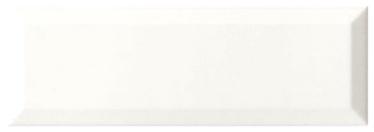 Keraminės sienų plytelės Loft Blanco, 30 x 10 cm