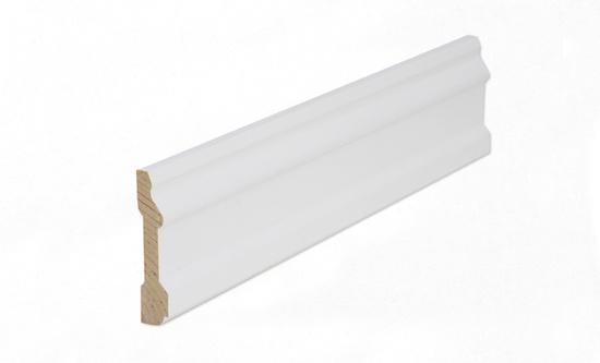 Uksepiirdeliist 15x70mm mänd valge 2,2m