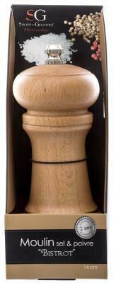 Soola- ja pipraveski Secret de Gourmet 136326, liivakarva pruun