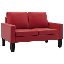 Диван VLX 2-Seater 288756, красный, 76 x 130 x 82.5 см