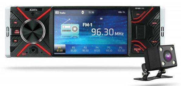Xblitz RF400 + Rear Camera
