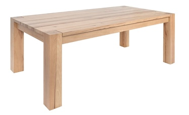 Black Red White Verde Table 200x110cm Natural Beech