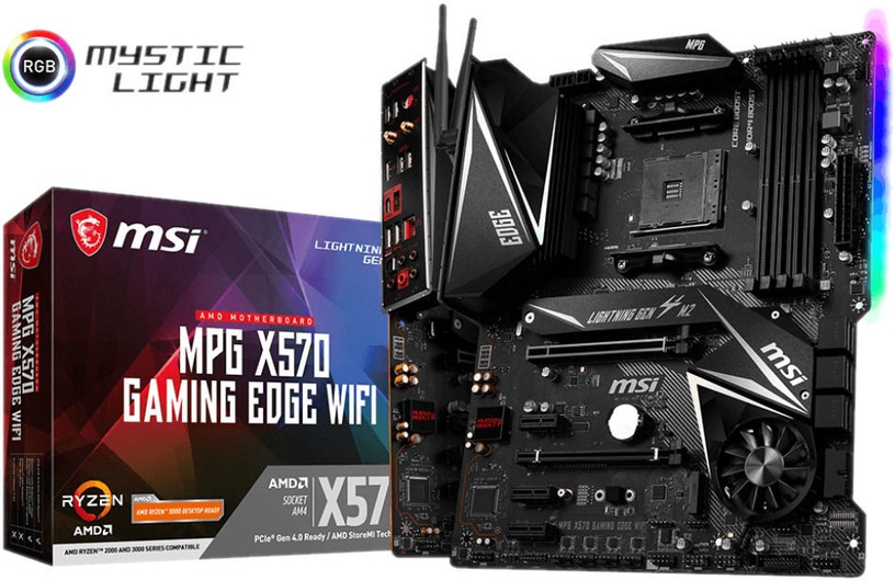 Mātesplate MSI MPG X570 GAMING EDGE WI-FI