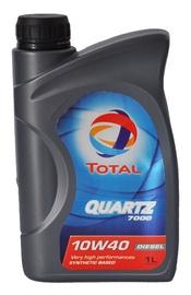 Automobilio variklio tepalas Total Quartz Diesel 7000, 10W-40, 1 l