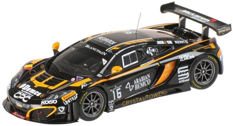 Minichamps McLaren 12C GT3 Black