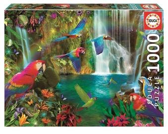 Educa Borras Puzzle Tropical Parrots 1000pcs