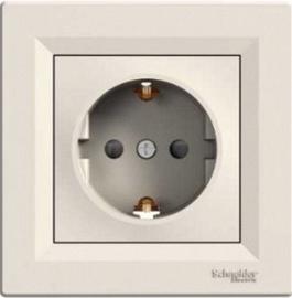 Kištukinis lizdas Schneider Electric Asfora EPH2900223, smėlio spalvos