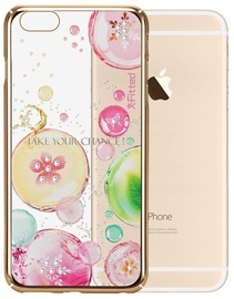 X-Fitted Fancy Bubble Swarovski Crystals Back Case For Apple iPhone 6/6s Gold
