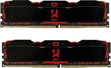 Operatīvā atmiņa (RAM) Goodram RDM X Black IR-X3200D464L16S/16GDC DDR4 16 GB