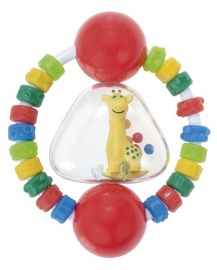 Canpol Babies Giraffe Rattle With Soft Bite Teether Assort