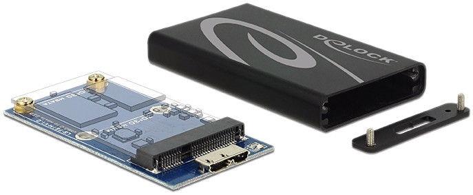 Delock mSATA SSD to USB 3.0 External Enclosure 42569