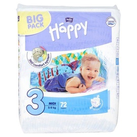 Bella Baby Happy Midi Diapers Big Pack S3 72