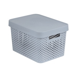 Curver Infinity Perforated Box 17l Grey